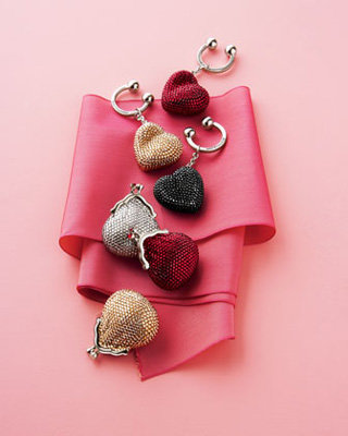 Heart 'N' Soul Key Ring & Beaded Coin Purse