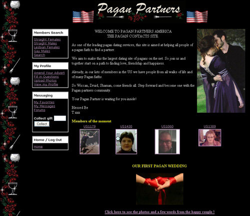 pagan dating site The roman catholic church and pope use the symbols of pagan gods the zucchetti skull cap, mitre of dagon, obelisk, hexagram, maltese cross, pine cones.