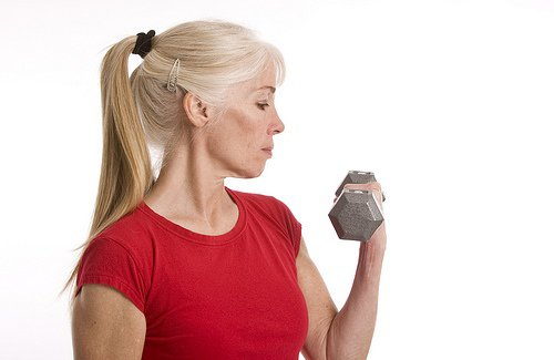 Weight lifting workouts for women over 50