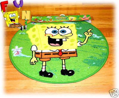 Spongebob Rugs Home Decor