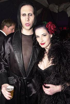 Marilyn Manson And Dita Von Teese