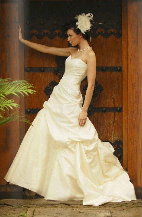 6 gorgeous strapless wedding gowns fashion for Wedding dresses in augusta ga