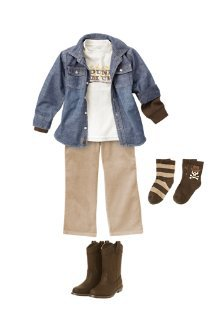 Round u0026#39;Em up - 7 Back to School Outfits for Your Elementary Childu2026