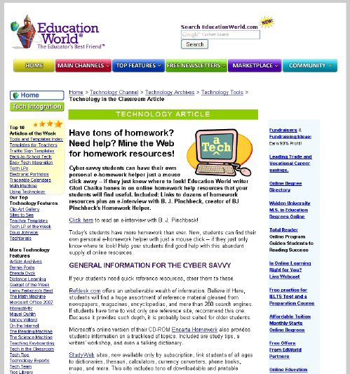 Ideal Homework Help Site is Right Here!