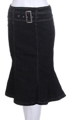 Denim Flared Skirt - 7 Best Denim Skirts for Back to School ... →…