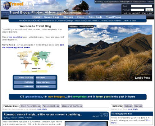 Best Travel Sites