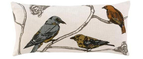 "Dwell Studio ""Chinoiserie"" Long Pillow"