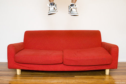 Red Couch 7 Pretty Sofas Lifestyle