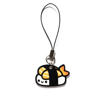 Happy Sushi Cell Phone Charm