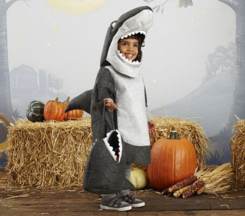 Kids Halloween Costumes Boys Barn Kids Shark Costume