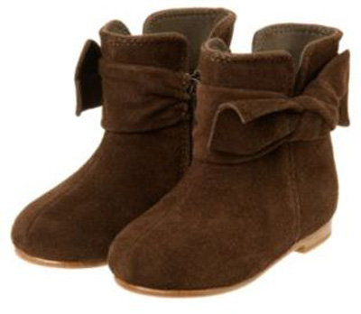 Janie and Jack Suede Bow Boot - 7 Cute Boots for Your Little Girl…