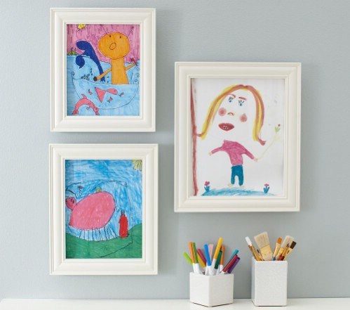 childrens art frames