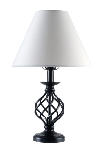 black iron table lamp online image. Black Bedroom Furniture Sets. Home Design Ideas