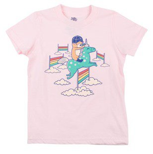 Equestrian 8 cute graphic tees for kids for back to for Shirts with graphics on the back