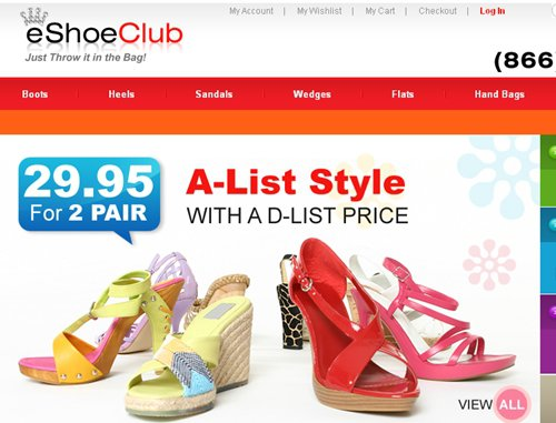 shoe clubs online