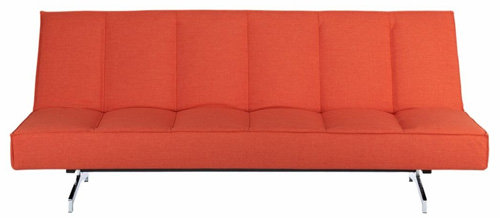Cb2 Flex Orange Sofa
