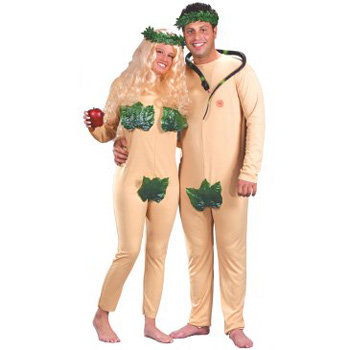 Adam & Eve - 7 Halloween Costume Ideas for Couples … …