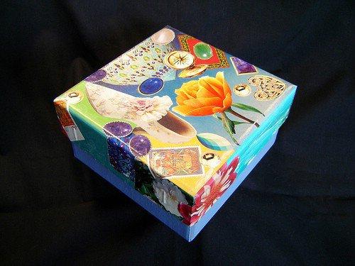 Decoupage Collage Box