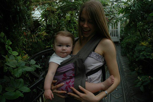 For Infants, a Baby Carrier