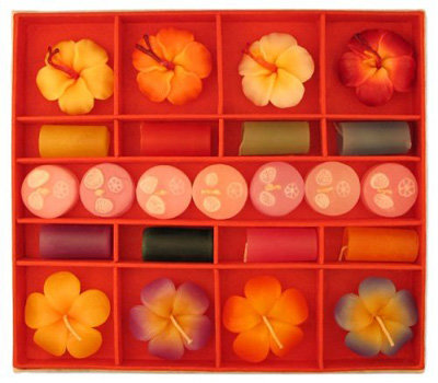 Floral Scented Candles