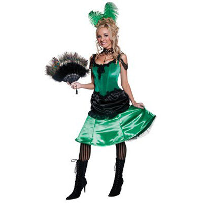 7. Western Saloon Girl Halloween Costume - 8 Cool Costumes for…