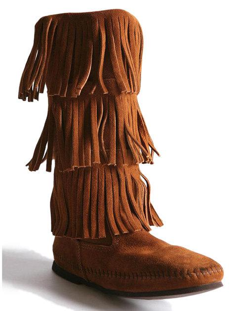 Minnetonka Triple Fringe - 8 Cutest Boots for Teenage Girls ... …
