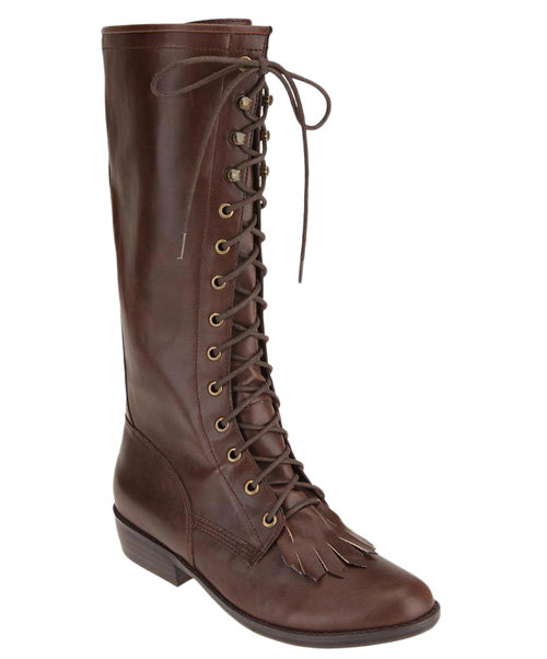 We Who See Tall Fringe Rodeo Boot