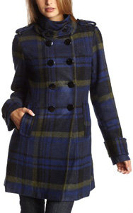 8. Preppy Plaid - 8 Cutest Winter Coats for Teenage Girls → 👗…