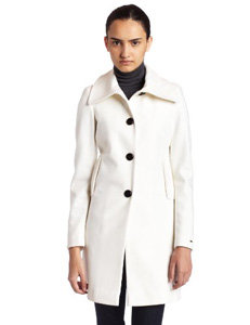 2. Winter White - 8 Cutest Winter Coats for Teenage Girls → 👗…