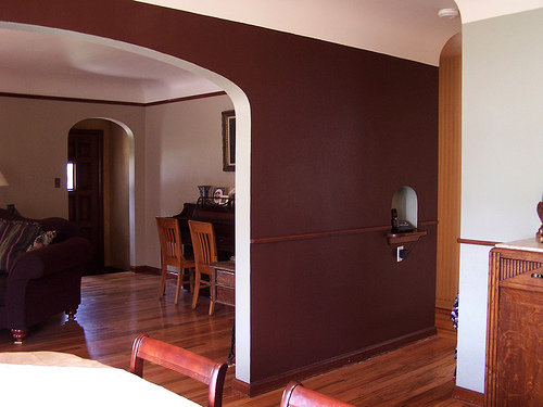 Chocolate Brown Trendy Color Combinations For Your Wall - Trendy color combinations