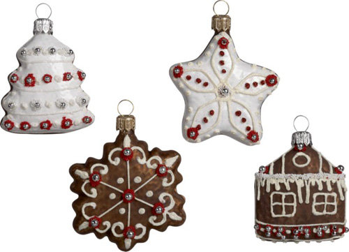 Edible Gingerbread Christmas Tree Decorations : Lovely ornaments i d love to see on my christmas tree