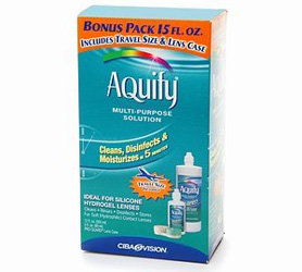 AQuify Multi-Purpose Solution for Soft Contact Lenses