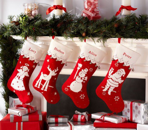 pottery barn kids vintage icon stocking collection
