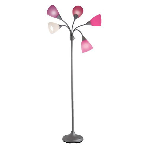 pretty in pink 8 pretty lamps for your living room. Black Bedroom Furniture Sets. Home Design Ideas