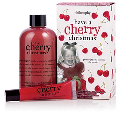 Philosophy Christmas Gifts Cherry Christmas Gift Set