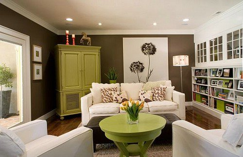 chocolate brown 9 great colors for your living room