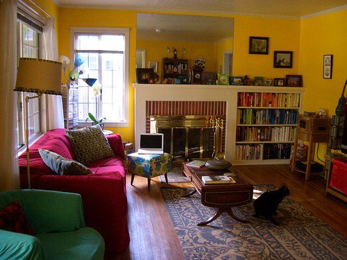 Sunny Yellow 9 Great Colors For Your Living Room