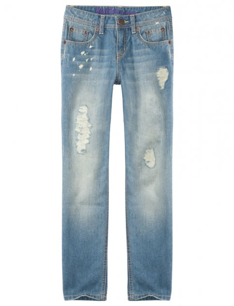 6. Justice for Girls Destroyed Skinny Jean - 7 Cute Jeans for Tweens…