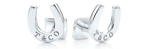 Tiffany T&CO.® Horseshoe Cuff Links