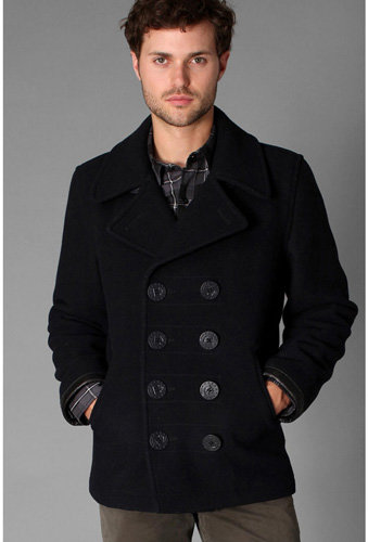Spiewak Naval Pea Coat - 7 Great Coats for Men ... Fashion