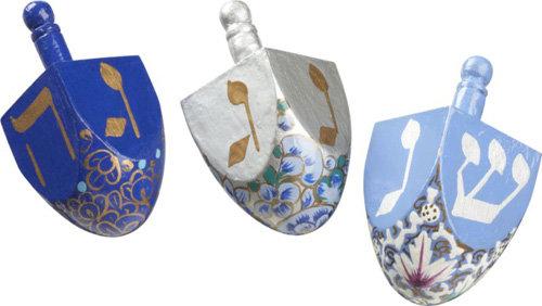 dreidels - Hanukkah Decorations