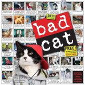 Bad Cat 2011 Calendar