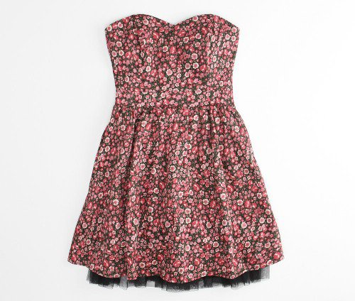 Sandy Holiday Roses Dress