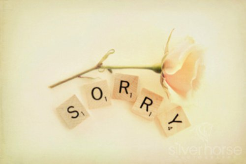 He May Apologize for What He Has Done Wrong