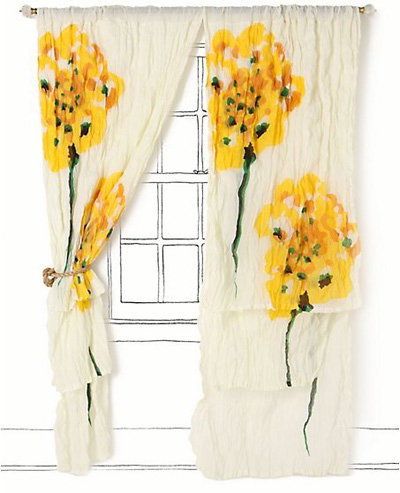 7 Gorgeous Curtains from Anthropologie ... → 🍹 Lifestyle