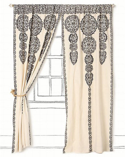 Marrakech Curtain - 7 Gorgeous Curtains from Anthropologie ... → 🍹…