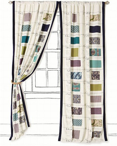 Swatch Book Curtain - 7 Gorgeous Curtains from Anthropologie ... →…