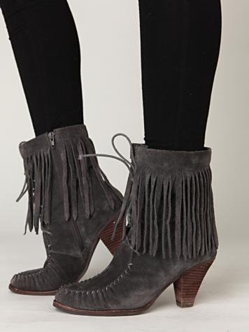 Lea Fringe Boot - 7 Ways to Wear Fringe ... → 👗 Fashion