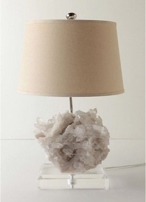 Rock crystal lamp 8 pretty table lamps lifestyle rock crystal lamp mozeypictures Gallery