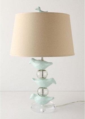 Sort Sol Lamp